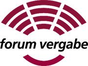 Abbildung vom Logo des Forum für Vergabe